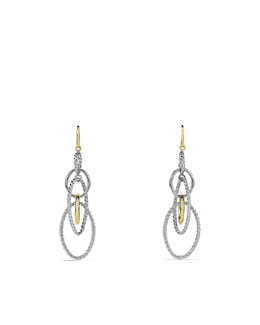 David Yurman Mobile Chain Earrings