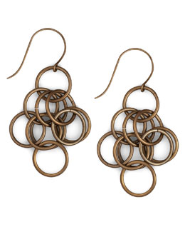 Nest Loop-Chain Earrings