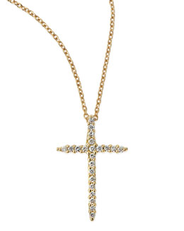 Roberto Coin Cross Necklace
