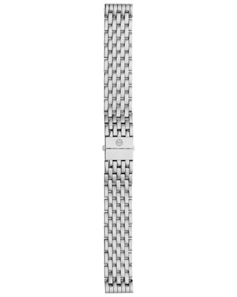 Deco Mosaic Geometric Diamond Watch Head, 18mm Deco Diamond Bracelet Strap, ...