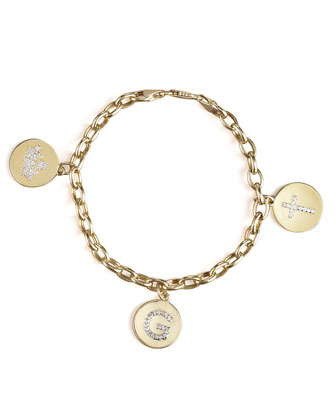 Charm Bracelet, Yellow Gold