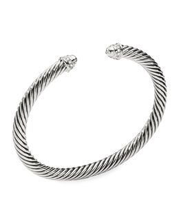 David Yurman 5mm Diamond Cable Classics Bracelet