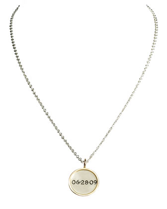 Framed Personalized Date Charm