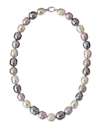 Mixed-Pearl Necklace