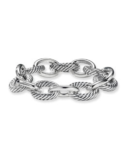 David Yurman Extra Large Oval Link Chain Bracelet