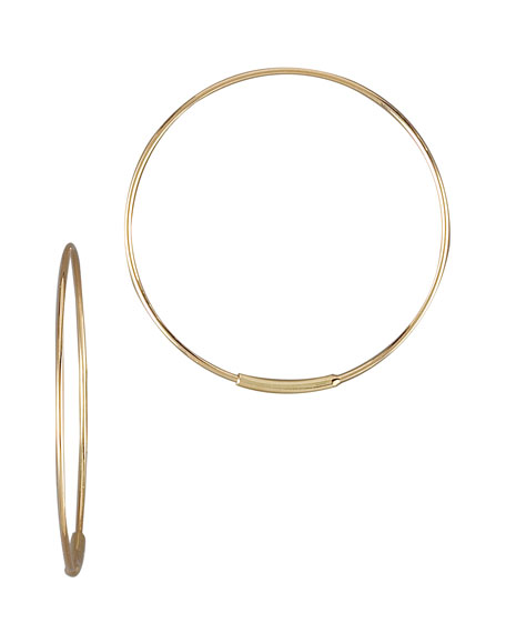 Lana Small Magic Hoops, Gold