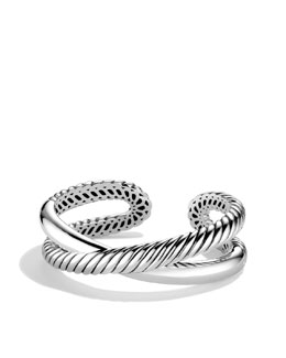 David Yurman Small X Cuff Bracelet