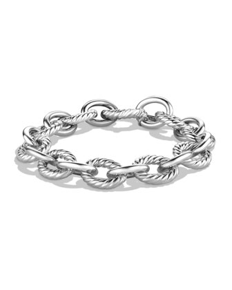 Large Oval Link Bracelet