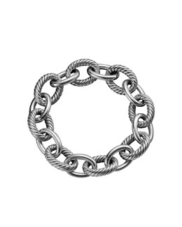 David Yurman Extra Large Oval Link Bracelet
