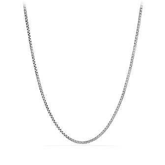 Medium Box Chain with Gold, 36