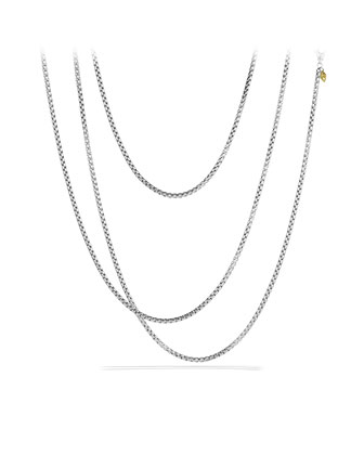 Medium Box Chain with Gold