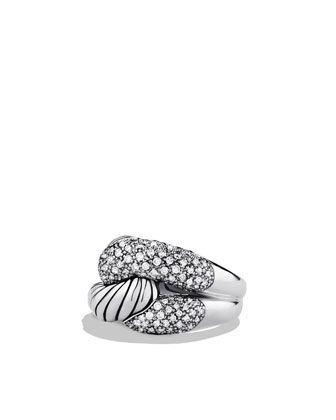 Pave Diamond Infinity Ring