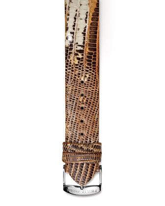 Bronze Lizard Strap, 18mm