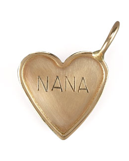 Heather Moore Nana Heart Charm