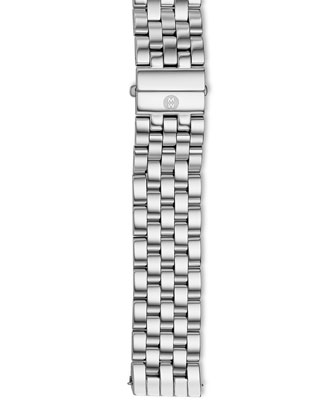 Urban Diamond Stainless Black-Dial Watch Head & 20mm Urban Bracelet