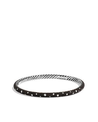 Midnight M??lange Bangle with Diamonds