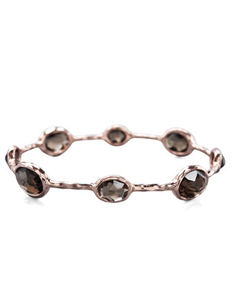 Eight-Stone Rose Bangle