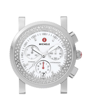 Sport Sail Diamond Watch Head & Alligator Strap