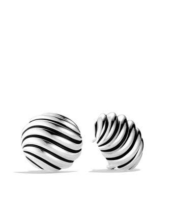 Sculpted Cable Earrings