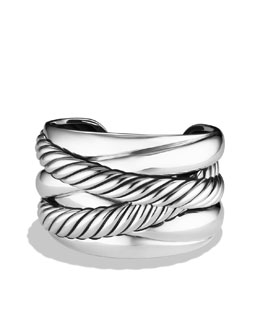 David Yurman Wide Crossover Cuff