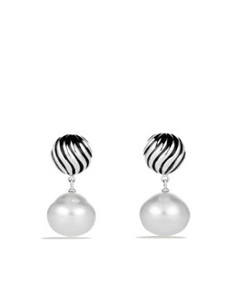 David Yurman David Yurman Elements™ Earrings, South Sea Pearl
