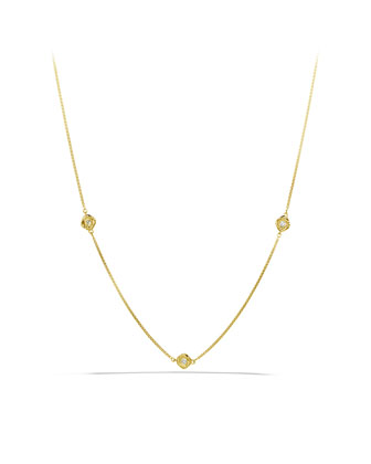Infinity Necklace, Diamond, 18
