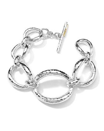Hammered-Link Bracelet