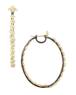 Armenta Diamond Hoop Earrings