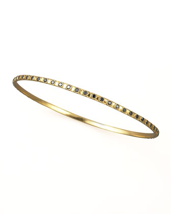 Eternity Black Diamond Bangle