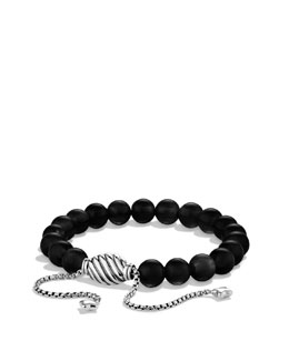 David Yurman Spiritual Bead Bracelet, Black Onyx 8mm