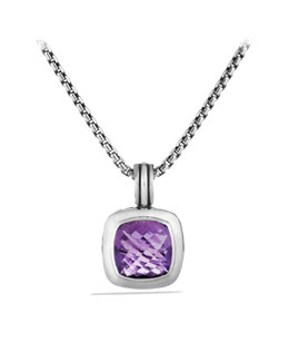 David Yurman Albion Enhancer, Amethyst, 17mm
