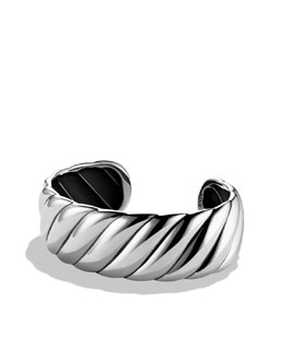 David Yurman Sculpted Cable Cuff, Narrow