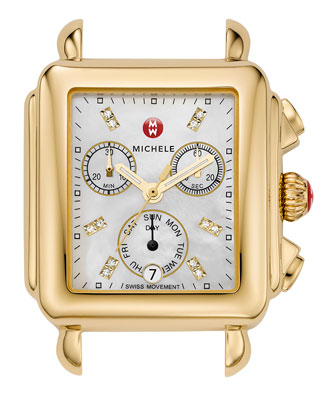 Deco Day Diamond Gold, Diamond Dial