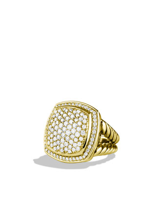 Albion Ring with Diamonds in Gold