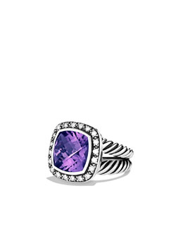 David Yurman Moonlight Ice Ring, Amethyst, 11mm