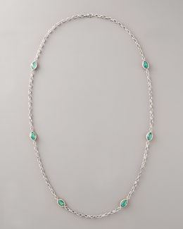 Lagos Malachite By-the-Yard Necklace