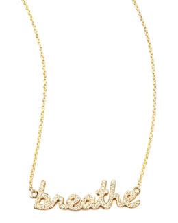 Sydney Evan Diamond Breathe Necklace