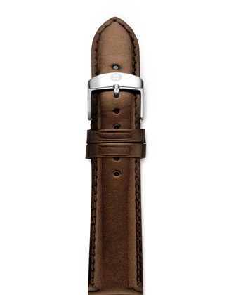 20mm Patent Leather Strap, Espresso