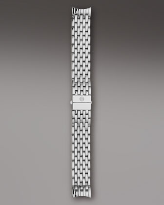 CSX 36 Diamond-Bezel Black Watch Head & 18mm Bracelet Strap