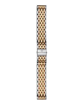 18mm Deco Tri-Tone Bracelet