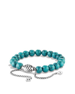 David Yurman Spiritual Bead Bracelet, Turquoise, 8mm