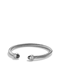 David Yurman Cable Classic Bracelet, Hematite