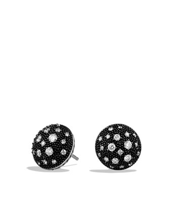 Midnight M??lange Earrings with Diamonds