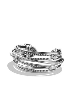 David Yurman Crossover Bracelet, Sterling Silver