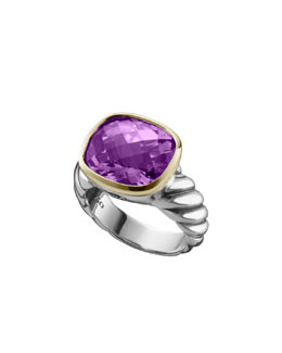 David Yurman Noblesse Ring, Amethyst