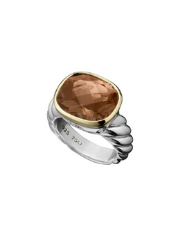 David Yurman Noblesse Ring, Smoky Quartz