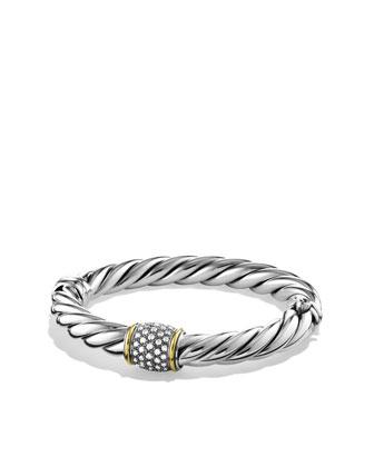 Metro Bracelet with Diamonds and Gold