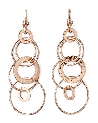 Rose Multi-Link Jet-Set Earrings, Mini
