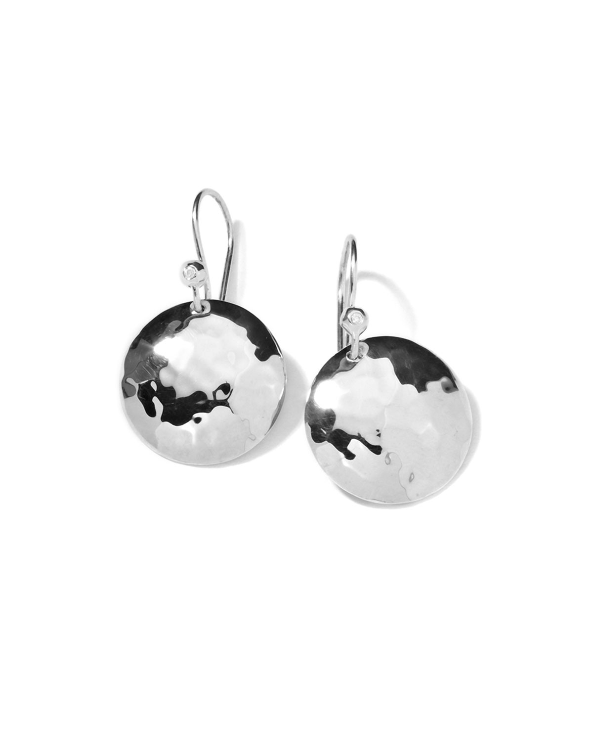 Diamond & Sterling Silver Earrings   Ippolita   Silver