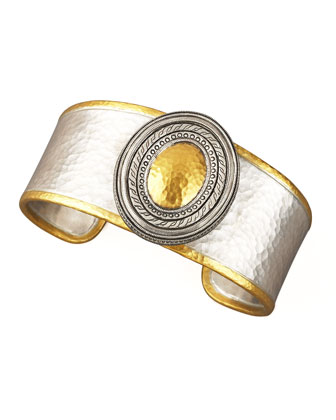 Cavalier Mixed Metal Cuff